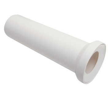 Abu wc aansluitstuk wit 110 mm - 40 cm
