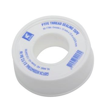Griffon PTFE tape t.b.v. Water Afdichten 12 mm x 12 Meter