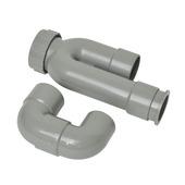 Sifon p-vorm en s-vorm 32 mm