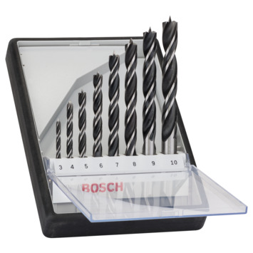 Bosch houtspiraalborenset X5L Robust Line (8-delig)