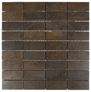 Mozaiek Corten Brons30X30CM 1St