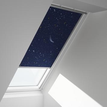 Velux dakraamrolgordijn donkerblauw ster (5265) - U04/804