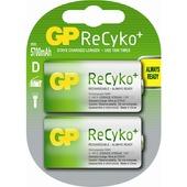 GP ReCyko batterij d herlaadbaar 2 stuks