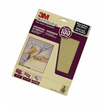 3M™ SandBlaster™ schuurpapier p100 3 stuks