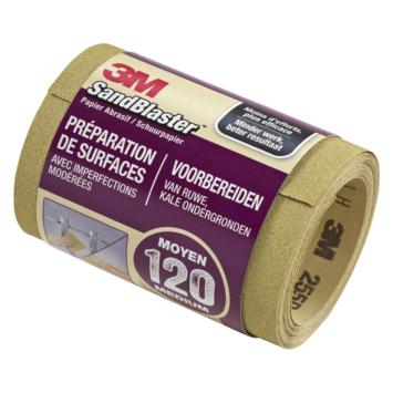 3M™ SandBlaster™ schuurpapier op rol p120 5mx11,5cm