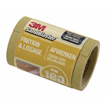 3M™ SandBlaster™ schuurpapier op rol p180 2,5mx11,5cm