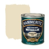 Hammerite Direct over Roest metaallak zijdeglans crème 750 ml