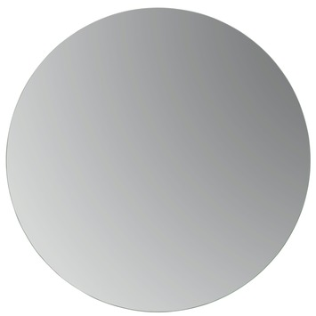 Plieger passpiegel rond zilver 35 cm