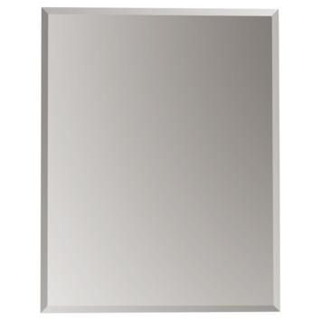 Plieger Charleston spiegel met facetrand zilver 70 x 55 cm