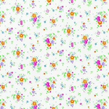 Plakfolie bloemen 200 x 45 cm (346-0193)