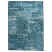Vloerkleed Florence blauw 170x240 cm
