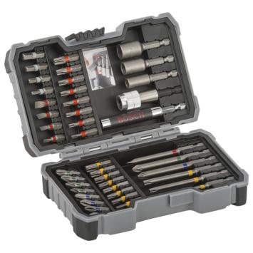 Bosch bit- en dopsleutel set
