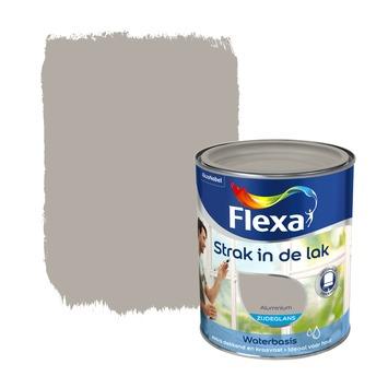 Flexa Strak in de Lak zijdeglans aluminium 1 l