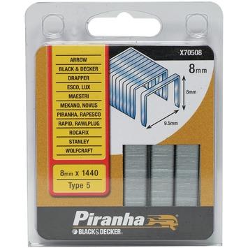 Piranha type 5 nieten 8 mm X70508-QZ 1440 stuks