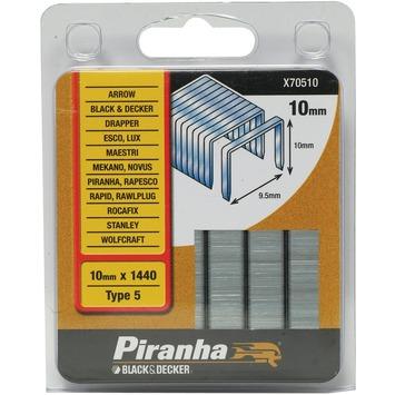 Piranha type 5 nieten 10 mm X70510-QZ 1440 stuks