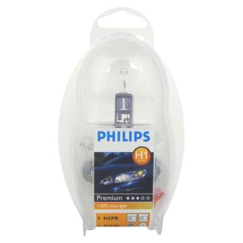 Philips H1 premium autolampenset