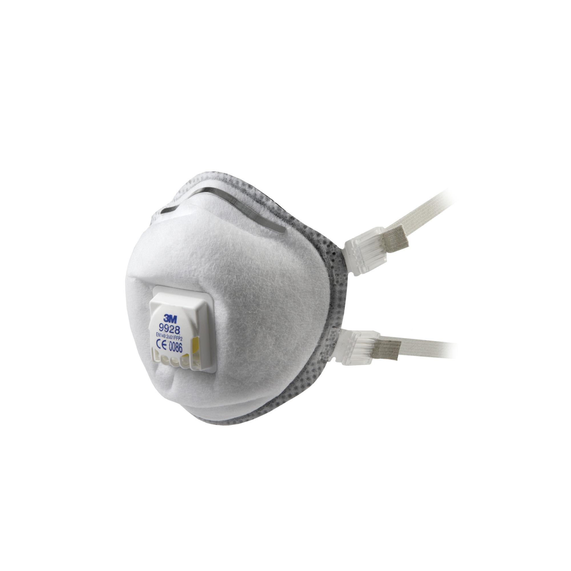 3M™ Lasrookmasker cupvorm FFP2 met uitademventiel