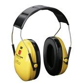 3M Gehoorkap kunststof geel 25 dB