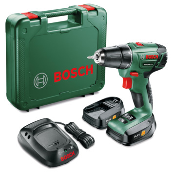 Bosch accuboormachine PSR 1440 Li-2 met 1-uurslader