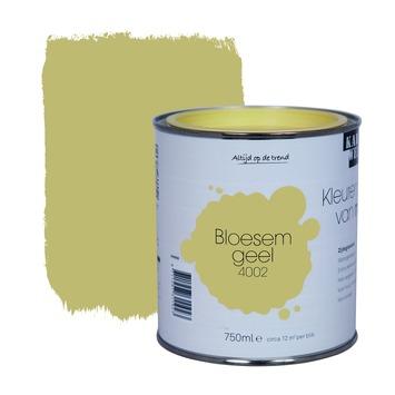 KARWEI Kleuren van Nu lak zijdeglans bloesemgeel 750 ml