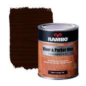 Rambo vloer- en parketwax warm wengé transparant 750 ml