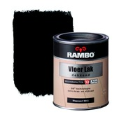 Rambo vloerlak diep zwart dekkend 750 ml