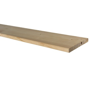 Tuinplank Douglas geschaafd ca. 1,6x14 cm, lengte ca. 240 cm