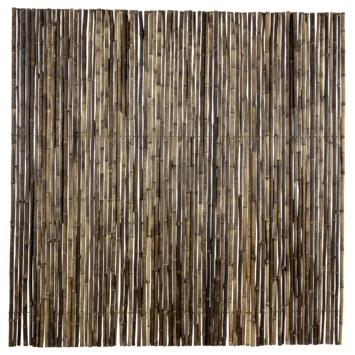 Bamboe Schutting zwart ca. 180x180 cm