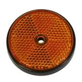 Cosmic reflector oranje ø 70 mm 2 stuks