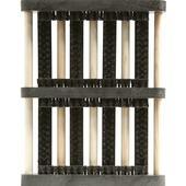 Schoenborstel mat brush zwart 27x35cm