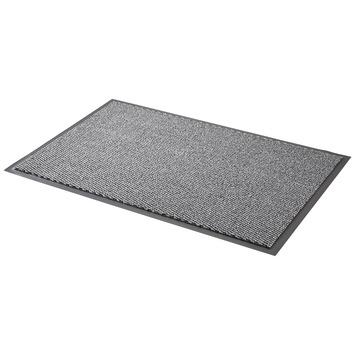 Droogloopmat 60x90 cm grijs