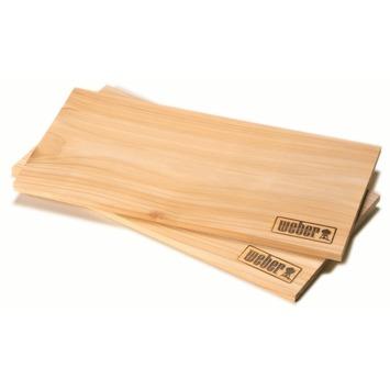 Weber rookplank cederhout klein