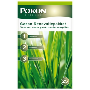 Pokon Gazon Renovatiepakket 3-in-1