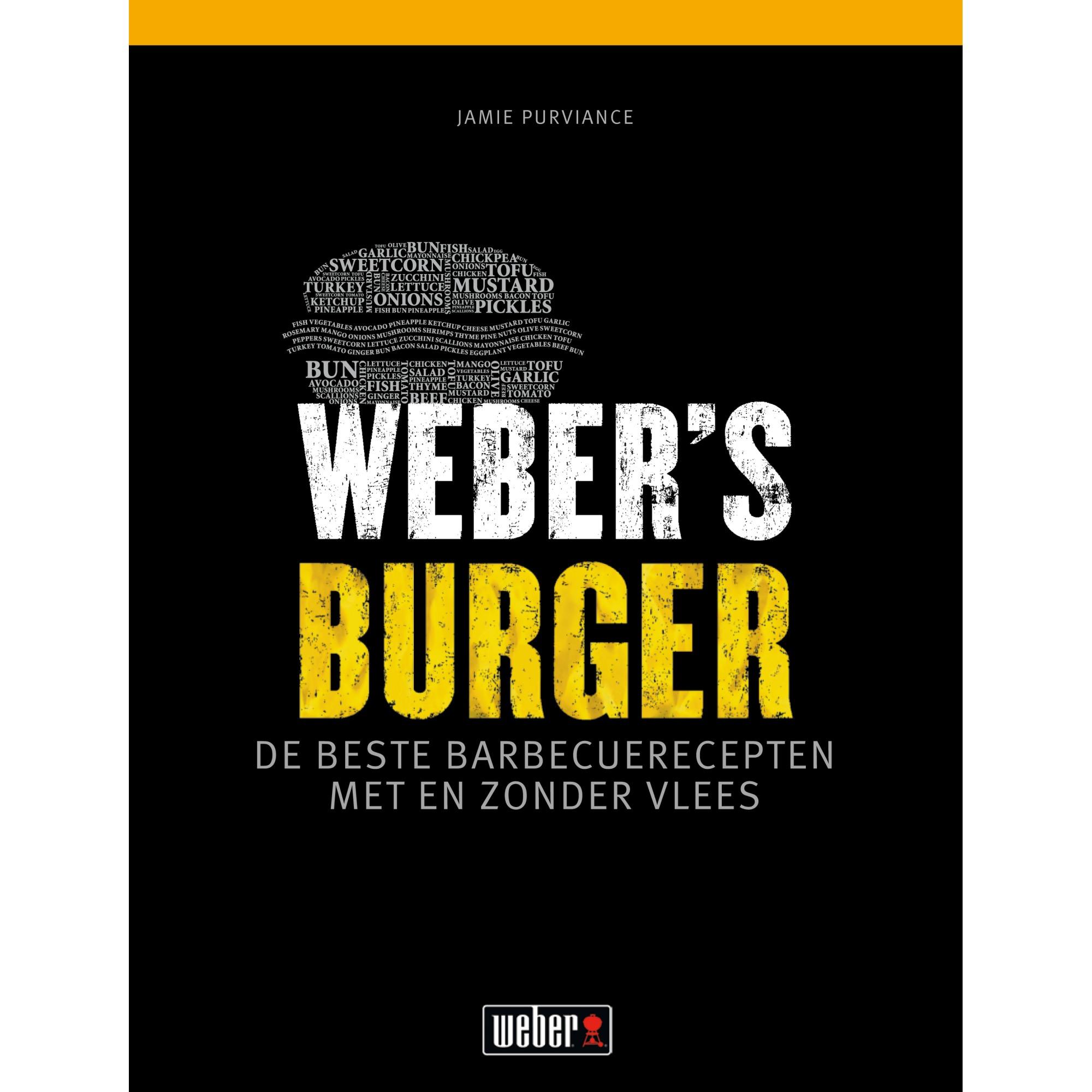 Weber Kookboek Weber's Burger