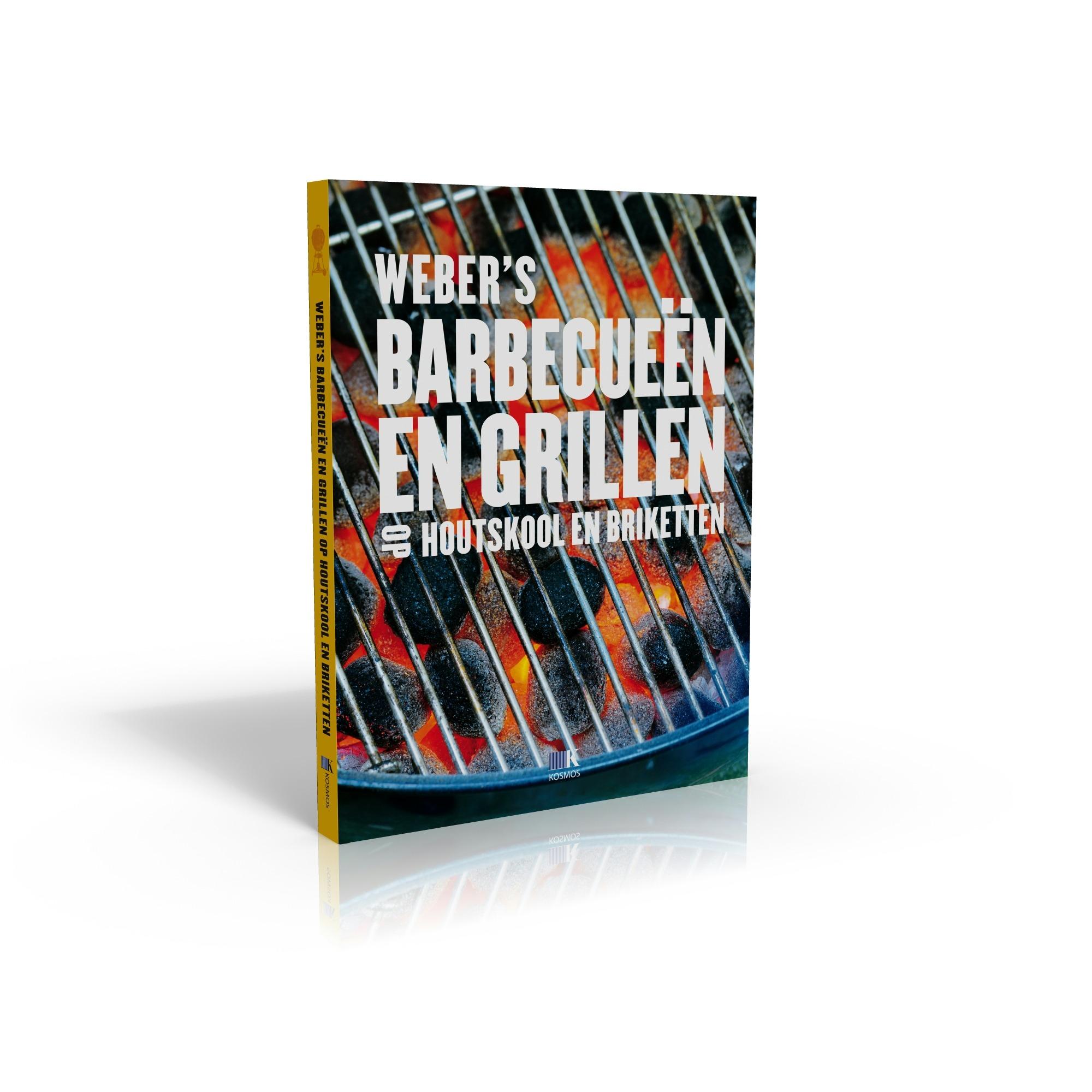 Weber Kookboek Weber's Barbecueen en Grillen op houtskool en briketten