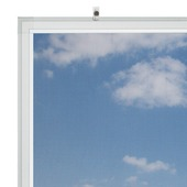 Bruynzeel vaste raamhor s500 85x105 cm wit