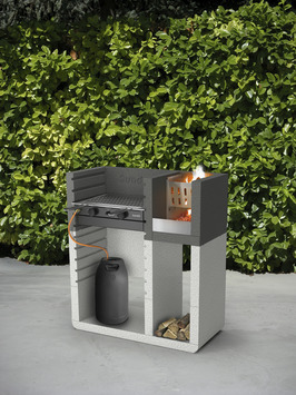 Betonnen Barbecue Karwei.Barbecue Beton Sunday One Plus 49x106x120 Cm