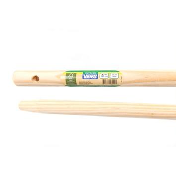 Vero bezemsteel hout 130 cm 28 mm
