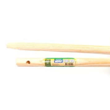 Vero bezemsteel hout 150 cm 28 mm