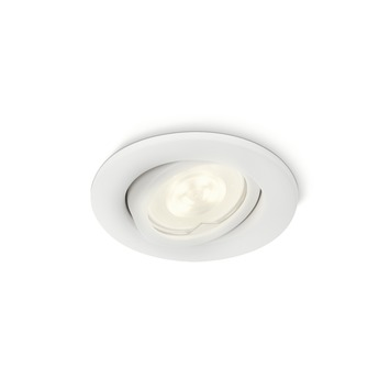 Philips Inbouwspot Fresco wit incl. LED lichtbron