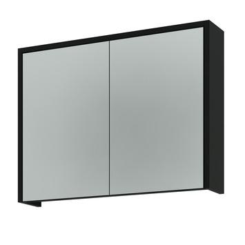 Arte spiegelkast 80 cm zwart kopen badkamermeubelen karwei for Spiegelkast 80 cm