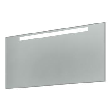 Bruynzeel spiegel met T5 lamp met verwarming aluminium 120 cm