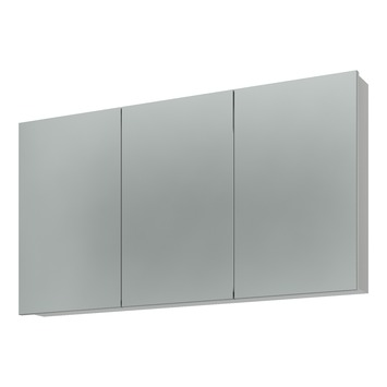 Bruynzeel spiegelkast 3 deurs 120 cm kopen for Spiegelkast badkamer 60 cm