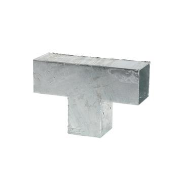 Cubic Paalhouder voor pergola verlengstuk 9x9 cm gegalvaniseerd