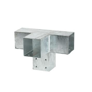Cubic verlengstuk dubbel gegalvaniseerd 9x9 cm