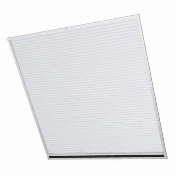 Bruynzeel raamhor duoplissé s700 77x180 cm aluminium