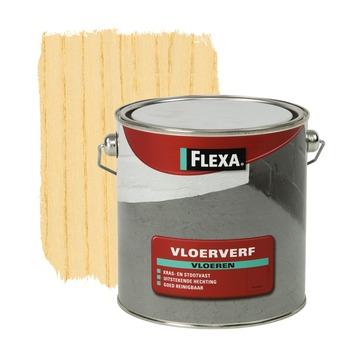 Flexa vloerverf transparant 2,5 l