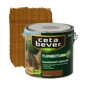 CetaBever tuinbeits plus R³ donker eiken transparant 2,5 l