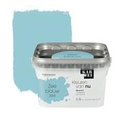 KARWEI Kleuren van Nu muurverf mat zeeblauw 2,5 l