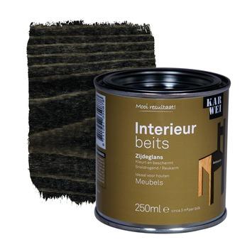 KARWEI binnenbeits interieur antraciet transparant 250 ml